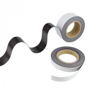Magnetbånd – hvid