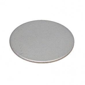 Metalskiver zink / hvid