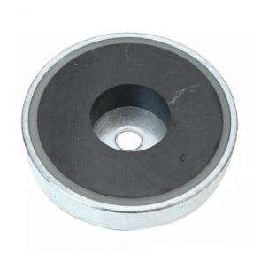 Pottemagnet – ferrit - cylinderboring