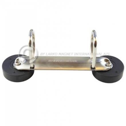 Ringbindsholder m. magnet - 2-ring / glastavler