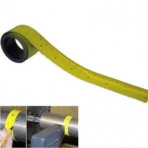 Målebånd 1 m. fleksibelt