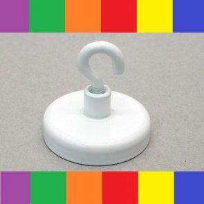 Magnetkroge i stål – farvet