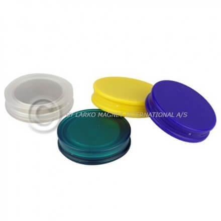 Magneter til glastavler - flade - DeLux
