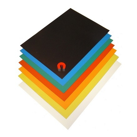 Magnetfolie - a4 ark i farver