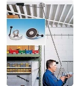 Magnetkrog med ring til loft