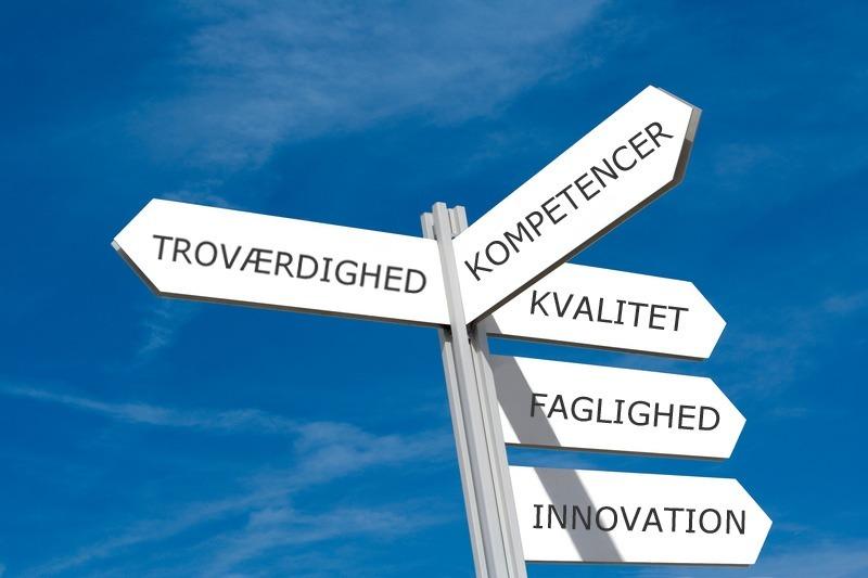 Mission og værdier