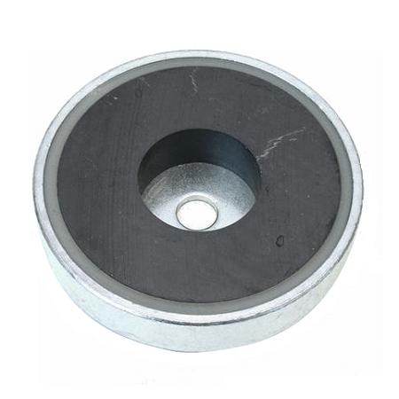Pottemagneter - ferrit - cylinderboring